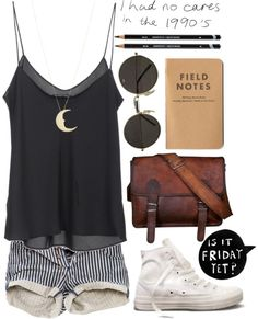 """Always Running"" by vv0lf ❤ liked on Polyvore. I actually for reals have a field notebook. I feel so cool right now."