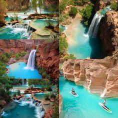 Lake Havasu Falls, Arizona. Neeeeeed to go here!