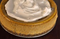 Pumpkin Cheesecake!