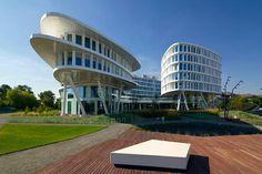Business Garden Warsaw designed by Massimiliano Fuksas & JSK Architekci.