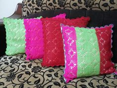Crochet 'cushion from wool
