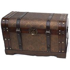 Victorian Old World Decorative Trunk
