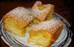 Sopaipilla Cheesecake Squares (cheesecake bars with a delicious creamy center and a crunchy cinnamon to) Greek Sweets, Greek Desserts, Greek Recipes, Cake Recipes, Snack Recipes, Dessert Recipes, Cooking Recipes, Sweets Cake, Cupcake Cakes