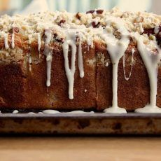 Cranberry Orange & Pecan Coffee Cake | Joy the Baker