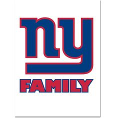 Pro Football Fever - Giants Family Decal | Free Shipping, $12.49 (http://www.profootballfever.com/giants-decal-family/)