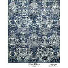 Jaipur Hand Knotted Chicory/Skyline Contemporary Pattern Rug