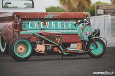 Rat Rod of the Day! - Page 70 - Rat Rods Rule / Undead Sleds - Hot Rods, Rat Rods, Beaters & Bikes. Rat Rods, Scooter Custom, Honda Ruckus, Bad To The Bone, Cafe Racer Motorcycle, Pony Car, Cool Motorcycles, Hot Rides, Street Bikes