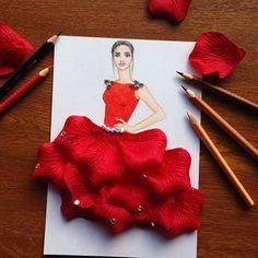 Amazing Paper Cut-out Dresses by Armenian Artist Edgar Artis