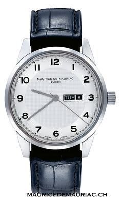 Maurice de Mauriac, Zurich. Swiss handcrafted watches.  Visit our website for more details:  http://mauricedemauriac.ch/