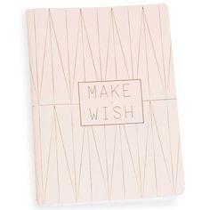 Carnet de notes 13 x 18 cm MAKE A WISH