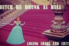 Oh Cinderella...... I don't blame you. with family like yours, I'd drink too.
