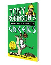 Facts and information from Tony Robinson about the ancient Greeks.