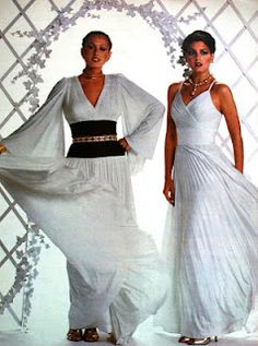 70s fashion! and I'm sleeveless...you have the wings....lol