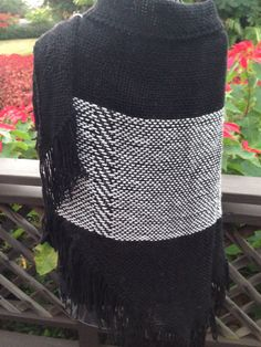 A personal favorite from my Etsy shop https://www.etsy.com/listing/260821983/handwoven-wool-shawl