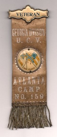 Atlanta Camp 159, Georgia Division, United Confederate Veterans.