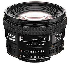 Nikon 20mm f/2.8D Lens https://www.camerasdirect.com.au/nikon-af-nikkor-20mm-f-2-8d-lens
