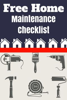 Keep your home in tip-top shape by checking off the tasks on this free home maintenance checklist