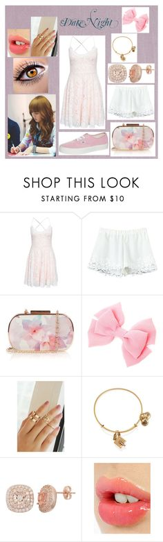 """Date Night"" by amiyeobo ❤ liked on Polyvore featuring Beacon, Club L, Oasis, Alex and Ani, Charlotte Tilbury and Vans"