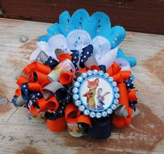 Zootopia Funky Loopy Bow
