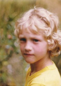Layne Staley (from Alice in Chains) as a child