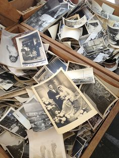Flea Market finds....neat to see the old photos and stuff from the past.. :)