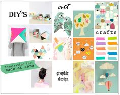 Blogging your way moodboard/ inspiration for my blog madeatcasa.com