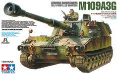 Tamiya 37022 German Howitzer M109A3G