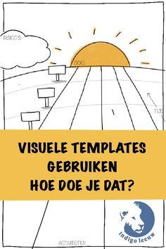 Alles over werken met visuele templates Template, Everything, Vorlage