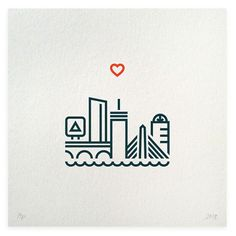 One Heart Boston is an ini­tia­tive by Boston-based Hairpin Communications to ben­e­fit vic­tims of the Boston Marathon attack. All pro­ceeds will go to The One Fund Boston. - Designworklife.com