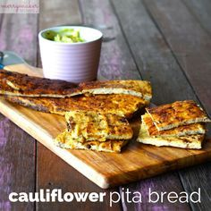 """cauliflower pita bread 