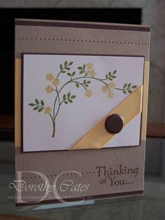 Get Well Thoughts by smartblonde_2000 - Cards and Paper Crafts at Splitcoaststampers