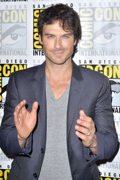 Ian Somerhalder - TVD Comic-Con Press Line 2016 on Saturday (July 23) in San Diego, Calif.