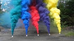 How to make a smoke bomb? It's not that hard. Follow the steps listed here to make 4 different types of smoke bombs with potassium nitrate, ping-pong balls, etc.