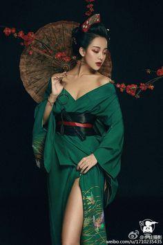 Т т ¢ ge ℓ ℓ ℓ # # # - # ℌ ℌ ℌ ø ø ge - geisha - Furisode Kimono, Yukata, Chinese Kimono, Mode Kimono, Japan Fashion, Fashion 2018, Beautiful Asian Girls, Asian Style, Traditional Dresses