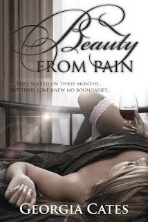 Charlando A Gusto - Beauty From Pain - Trilogía Beauty 01 - Georgia Cates  http://www.charlandoagusto.com/2015/05/beauty-from-pain-trilogia-beauty-01.html #Libros #Portadas