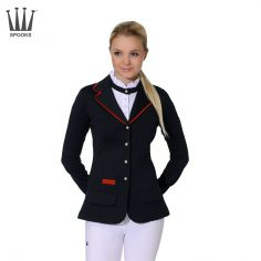 Spooks Lara Navy & Red Show Jacket, £200. We love this classic combination of navy and red