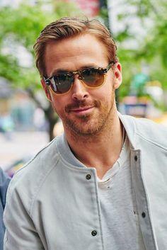 Ryan Gosling mit Bart