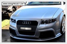 Audi A4 B6 8E Regula Tuning Body kit front bumper bar