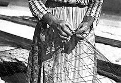 'Mariñeiros', ca. 1936 - José Suárez, Photographer (Galicia, Spain - Allariz, Ourense, 1902 - A Guarda, Pontevedra, 1974)