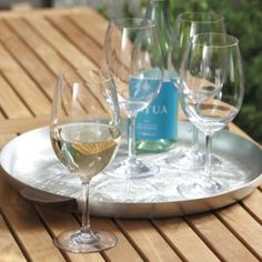 Set of 4 Hampton Outdoor Wine Glasses  | Ballard Designs--great idea--take these on the boat!