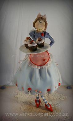 Cupcake Fairy Cake by Dot Klerck