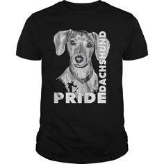 If you are a lover for Dachshund or your friend. This will be a great gift for you or your friend: Pride dachshund Tee Shirts T-Shirts Dapple Dachshund Puppy, Red Dachshund, Dachshund Tattoo, Dachshund Puppies For Sale, Dachshund Quotes, Dachshund Funny, Dachshund Shirt, Dachshund Gifts, Dachshund Costume