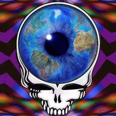 Eyes of the Worldx Grateful Dead Image, Grateful Dead Poster, Grateful Dead Wallpaper, Forever Grateful, Jerry Garcia Band, Rock Art, Psychedelic, Art Projects, Art Drawings