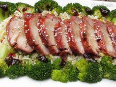 Prikladam  klasicky Cinsky recept na BBQ bravcove na grile. Jaro je tu a chcete prekvapit , perfektnou grilovackou z panenky co je stavnata.... Bbq Grill, Ale, Pork, Meat, Cilantro, Bar Grill, Kale Stir Fry, Pigs, Ales