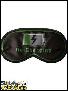 Re-Charging Eye Mask