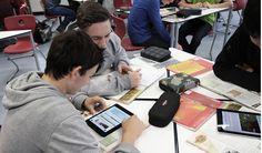 Schüler mit mBook - MBook-Projekt – Wikipedia