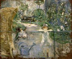 Berthe Morisot: The Basket Chair, 1882
