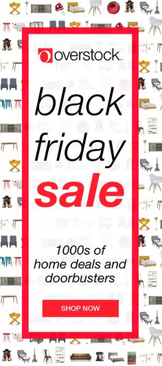 Shop Overstock.com and find the best Black Friday deals on living room furniture, home decor, coffee tables, beds, and more! Save up to 70% off today on gifts for everyone on your list, including you!