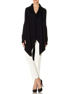 Drapey Long Sleeve Poncho from THELIMITED.com