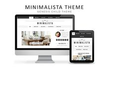 WordPress Theme – Minimalista